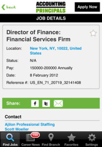 accounting principals for iphone
