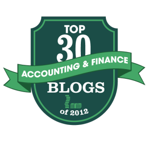 Best Accounting and Finance Blogs 2012