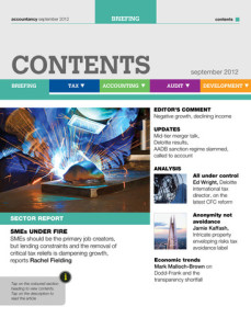 accountancy magazine for ipad