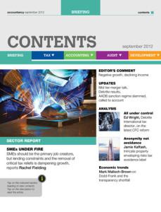 accountancy magazine for ipad