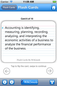 accounting by wagmob for iphone