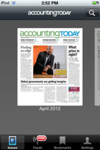 accounting today for iphone