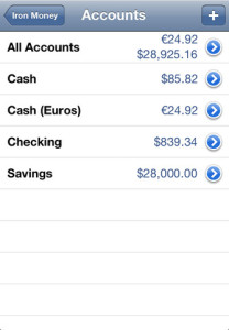 iron money for iphone